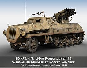 3D SDKFZ 4 - Panzerwerfer 42 - 7WB