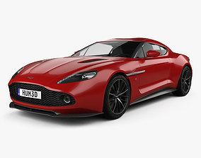 3D Aston Martin Vanquish Zagato 2016