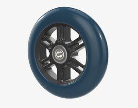 Roller skate wheel 01 3D