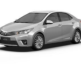 2014 Toyota Corolla Altis 3D model
