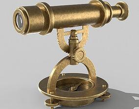 Desk telescope 3D model