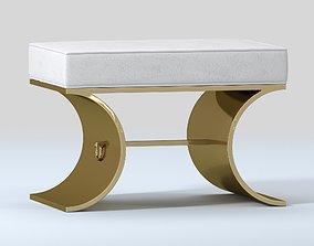 BERNHARDT JET SET BENCH 3D model