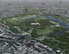 London Textured 2021 3D