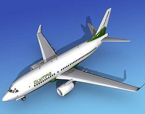 Boeing 737-700ER Olympia Charter 3D model