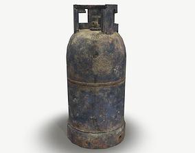 Gas Cylinder PBR 3D asset