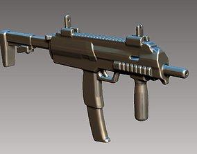 3D printable model gun MP7