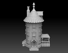 Finnish Troll House 3D print model