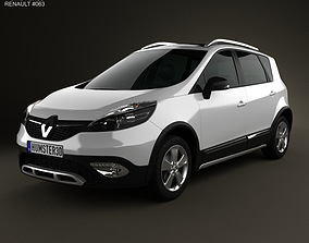 3D Renault Scenic XMOD 2013