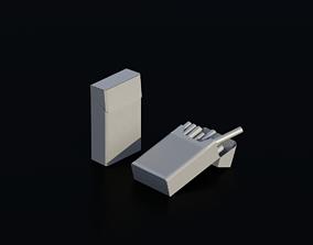 3D asset Cigarettes 01
