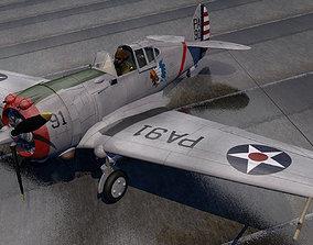 3D Curtiss P-36A Hawk