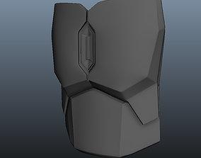 3D printable model The Mandalorian Beskar Chest Ab and 1
