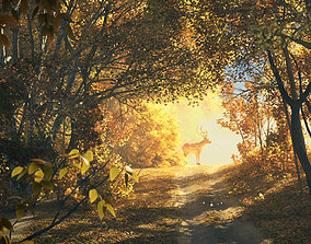Forest Scene 006 3D