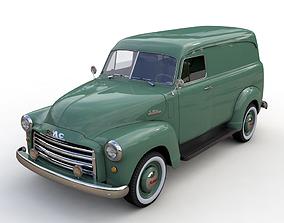 3D GMC PANEL TRUCK 1952