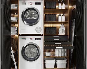 Laundry set 2 3D