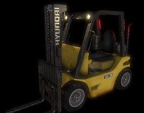 Forklifts 3D asset