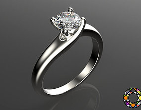 Engagement ring 1 with a set of sizes 3D print model