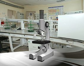 3D model MIcroscop