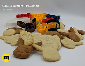 Pokemon Cookie Cutters set 3D printable model