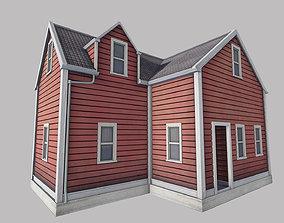 Boston House 3D model VR / AR ready