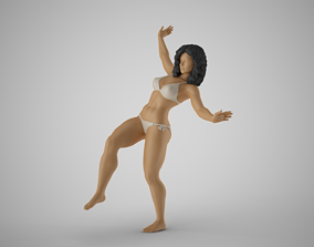 3D printable model Girl Trying to Keep Balance