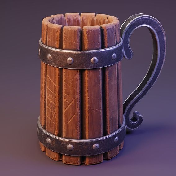 Viking Beer Jar