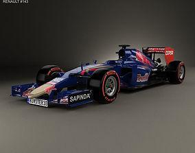 Renault STR10 Toro Rosso 2015 3D model