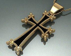 3D printable model Original Armenian cross with enamel