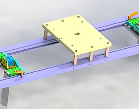 3D model Clappers positioning structure