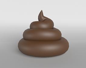 Pile of Poo v1 002 3D model