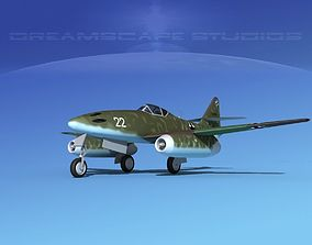Messerschmitt ME-262A1 Swallow V10 3D model