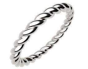 Rope Ring 3D print model