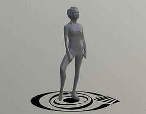 3D asset Human 087 LP R