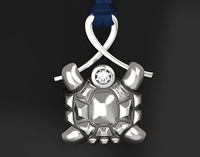 Turtle pendant - original 3D printable model