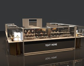 3D STORE KIOSK SHOP AND FURNITURE