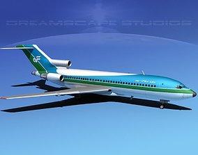 3D model Boeing 727-100 Air Florida