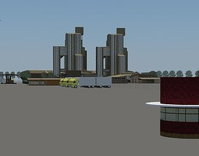 Layout for Cement plant 3D