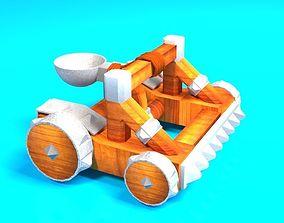 3D asset VR / AR ready Catapult