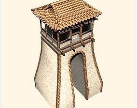 3D model Gate city