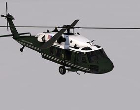3D asset Sikorsky VH-60N Whitehawk