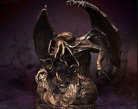 Monster Cthulhu 3D mammal
