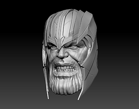 Thanos Head - Magnet 3D printable model