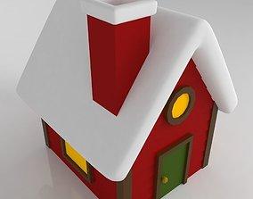 House christmas tree 3D print model