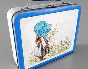 Lunchbox Low-poly model 3D asset