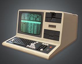 Computer 01 Retro 80s 3D model