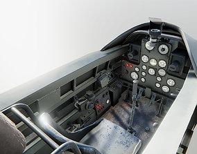 3D model Airplane Cockpits