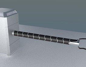 3D model game-ready Thor Hammer