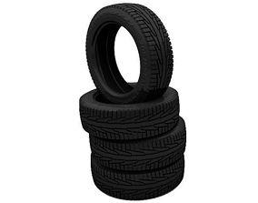 3D model Winter tire