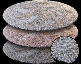 Round carpet 3D model round