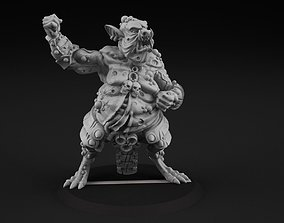 miniature 3D printable model Porktroll 2