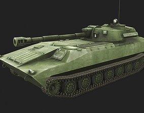 3D asset 2s1 Gvozdika